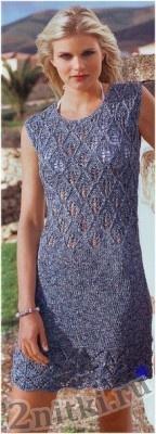 платье с ажурным лифом