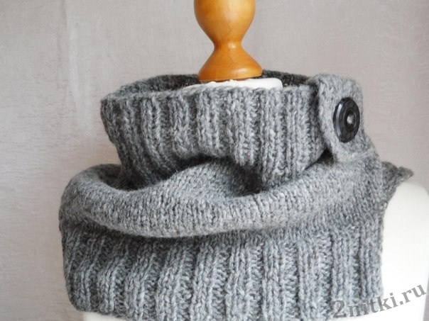 Универсальный шарф-снуд