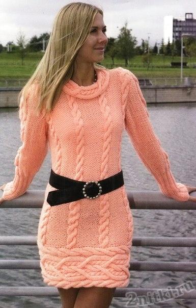 Платье из скандинавских мотивов