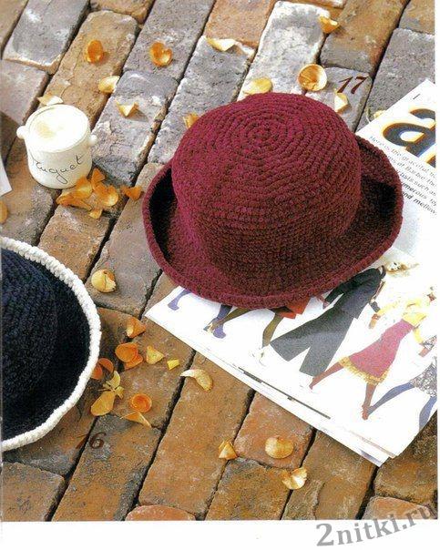 Осенняя шляпка