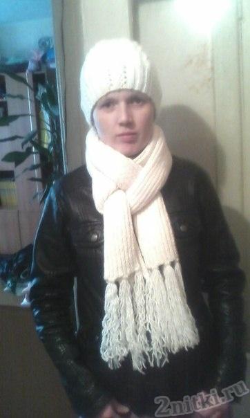 Комплект «Шапка и шарф»