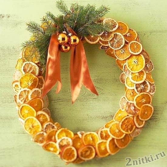 Ароматный рождественский венок
