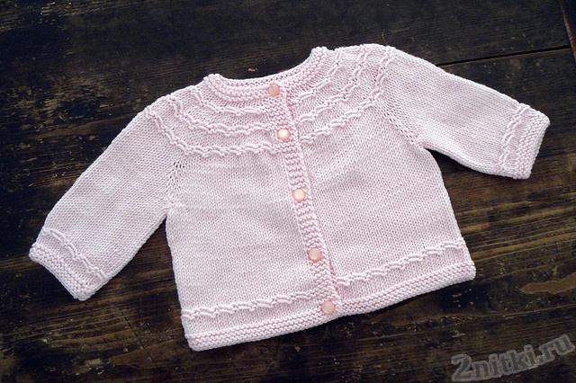 Жакет для младенца