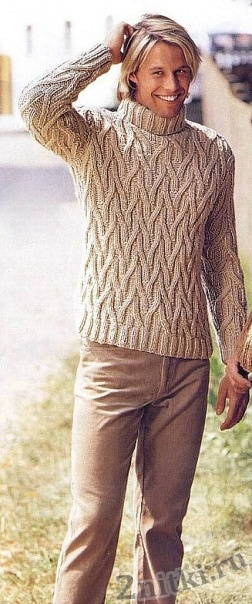 Рельефный свитер