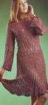 Женский костюм цвета вишни