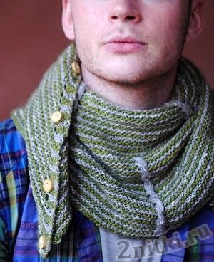 Оригинальный платок-шарф