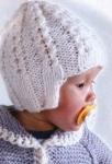 Детская шапочка с узором