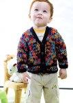 Детский пуловер «Калейдоскоп»