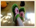 Домашние носочки-тапочки