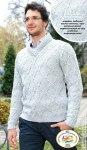 Мужской светло-серый свитер