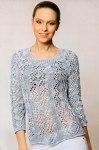 Женский пуловер реглан