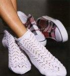 Женские ажурные носочки