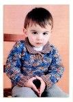 Детский пуловер «Картошечка»