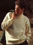 """Пуловер с узором """"Ромбы"""""""