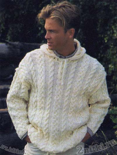 Вязаный Пуловер С Капюшоном С Доставкой