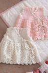 Детское платье с запахом
