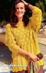 Жёлтый пуловер
