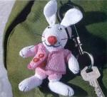 Брелок для ключей «Зайчик»