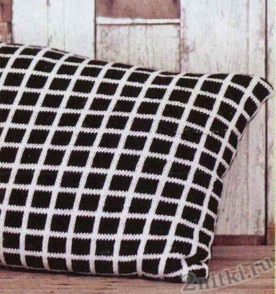 Черно-белые чехлы на подушки