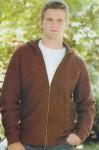 Джемпер с капюшоном на застежке-молнии