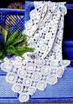 Салфетка крючком «Снежинки»