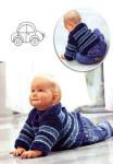 Детский полосатый пуловер